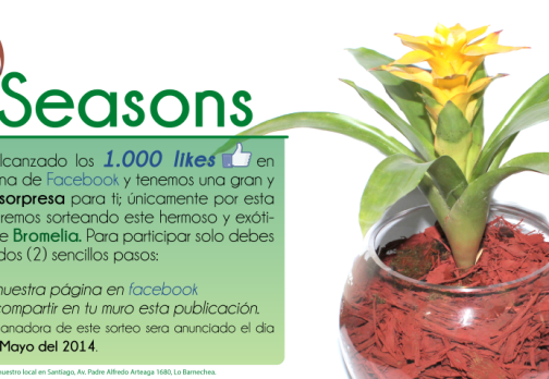 Seasons – 1.000Likes Facebook